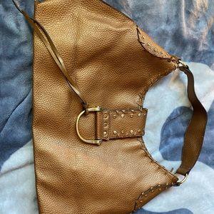 Bronze handbag